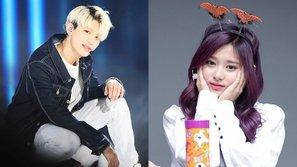Khoảnh khắc dễ thương giữa Tzuyu (TWICE) và Jinhoo (UP10TION) tại KCON khiến fan