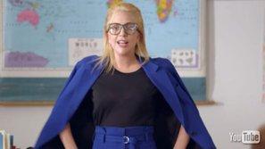 Lady Gaga gây bất ngờ khi trở thành giáo viên