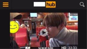 """""""Hoảng hồn"""" khi thấy TV show của BTS bị đăng lên trang web phim khiêu dâm"""
