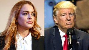 Lindsay Lohan kêu gọi mọi người ngừng tẩy chay Tổng thống Donald Trump
