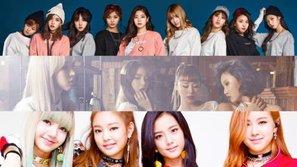 Top các nhóm nữ được tìm kiếm nhiều nhất trên MelOn nửa đầu năm 2017