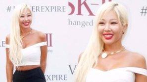 Rapper Jessi trở lại đầy mới lạ với mái tóc vàng rực rỡ
