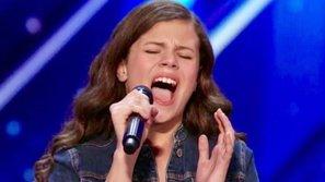 America's Got Talent: Cô bé 13 tuổi nhận ngay nút vàng nhờ giọng hát đầy cảm xúc