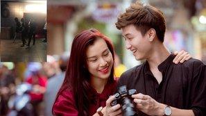 Công khai chia tay, Huỳnh Anh và Hoàng Oanh lại bị bắt gặp hẹn hò trong rạp chiếu phim