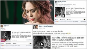 Cán mốc hơn 1 triệu view sau 24h phát hành, sao Việt đồng loạt gửi thương nhớ đến MV mới của Mỹ Tâm