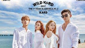 Sau khi gây bão với ca khúc debut, K.A.R.D tiếp tục trở lại với tour diễn thế giới