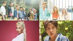 EXO, K.A.R.D, Jessi và Jung Yong Hwa chiếm lĩnh bảng xếp hạng Billboard tuần này