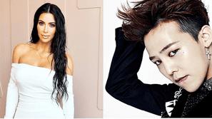 """Kim Kardashian bình luận gì khi G-Dragon """"chạm"""" vào vòng 3 của mình?"""