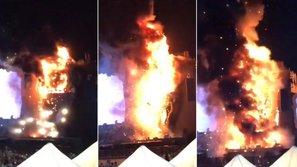 Cháy lớn tại lễ hội Tomorrowland ở Tây Ban Nha, hàng chục nghìn ravers hỗn loạn