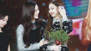 Tan chảy trước các khoảnh khắc gắn với nhau như hình với bóng của Jennie và Jisoo (Black Pink)!
