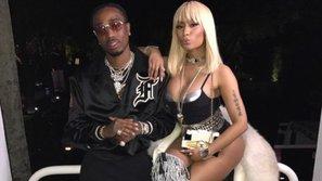 Nicki Minaj khiến fan đứng ngồi không yên khi tiết lộ đang quay MV cùng Quavo