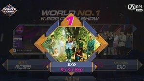 M! Countdown 3/8: EXO giành chiến thắng thứ 6, JJ Project và Kim Samuel đồng loạt