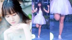 Thực hiện vũ đạo quá nặng, chân Yuju (GFriend) chảy máu thành dòng trên sân khấu Show Champion