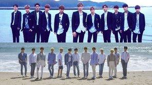 YMC tiếp tục khiến dư luận bất bình khi công bố loạt hàng hóa của Wanna One với màu sắc giống hệt Seventeen