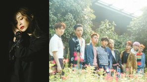 EXO và Heize dẫn đầu bảng xếp hạng tháng 7 của Gaon