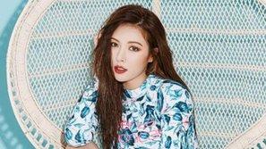 Sau khi gây ấn tượng cùng tân binh Triple H, HyunA xác nhận comeback solo