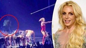 Britney Spears hoảng loạn khi bị fan cuồng đe dọa tấn công ngay trên sân khấu