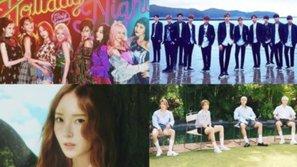 SNSD, Wanna One, Jessica và WINNER chiếm lĩnh bảng xếp hạng Billboard mới nhất