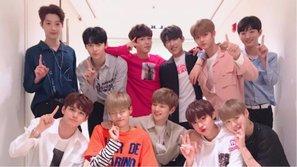 Xuất hiện ca khúc phá vỡ 210 giờ đứng hạng nhất Melon của Wanna One