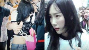Chuyện thật như đùa: Bị quấy rối và bật khóc tại sân bay, nhưng Taeyeon (SNSD) lại là người đứng ra xin lỗi fan