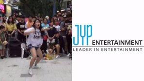"""Cô gái bất ngờ trở thành trainee của JYP nhờ clip nhảy trên đường phố """"gây sốt"""""""