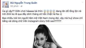 Hủy show qua Instargram, sao Việt giận dữ