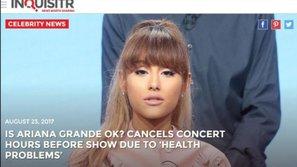 Báo quốc tế nói gì khi Ariana Grande đột ngột hủy concert tại Việt Nam vào phút chót?
