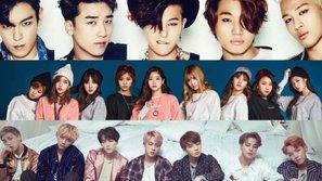 Những ca sĩ, nhóm nhạc K-Pop xuất sắc sở hữu MV đạt 200 triệu lượt xem