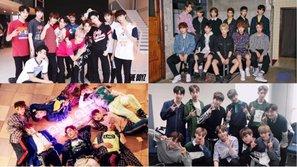 Độ tuổi trung bình của các boygroup debut trong năm 2017