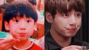 Tan chảy với ảnh ấu thơ chưa bao giờ tiết lộ của Jungkook (BTS)