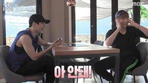 Phản ứng đáng yêu của Kang Daniel (Wanna One) khi bị Xiumin (EXO) xem lại những màn trình diễn cũ