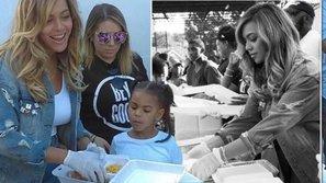 Ấm lòng trước nghĩa cử của Beyoncé dành cho nạn nhân bão Harvey