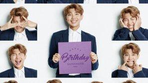 Fan thích thú khi BTS tung bộ ảnh '50 sắc thái' chúc mừng sinh nhật Rap Monster