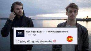 Sợ bị hủy show như Ariana Grande, fan Việt bật chế độ 'im lặng' trước giờ The Chainsmokers biểu diễn