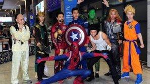 Sao Hàn cosplay các nhân vật nổi tiếng khiến fan thích thú và bất ngờ