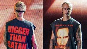 Chỉ vì một mẫu áo thun, Justin Bieber lại có thêm một 'kẻ thù' mới