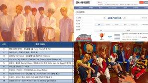 'Cơn bão BTS' càn quét nhiều bảng xếp hạng album hàng ngày với 'Love Yourelf: Her'                                                                   0