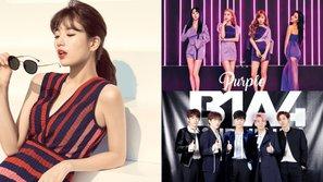 Suzy, MAMAMOO và B1A4 được xác nhận xuất hiện trong 'Bữa tiệc âm nhạc' sắp tới của JYP                                                                   0