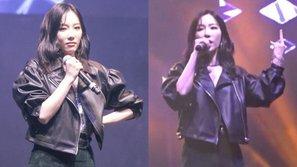 Netizen tranh cãi quyết liệt xung quanh hành động giơ ngón giữa của Taeyeon khi biểu diễn tại Canada