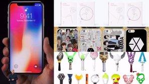 Nếu có đủ tiền tậu iPhone X, fan KPOP thà mua 13 món đồ này còn hơn!