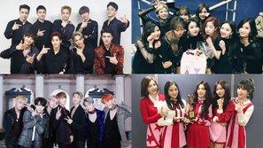 Danh sách boygroup và girlgroup sở hữu lượt stream nhiều nhất năm 2017: Tranh cãi xung quanh vị trí dẫn đầu của EXO