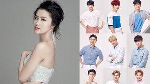 Fan Việt phát sốt trước thái độ lịch sự của EXO với Đông Nhi trên sân khấu Asia Song Festival