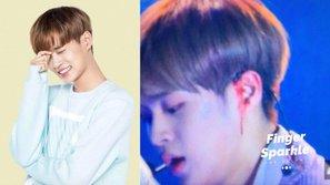 Tai nạn ám ảnh: Đang biểu diễn, tai Lee Daehwi (Wanna One) chảy máu dữ dội trên sân khấu