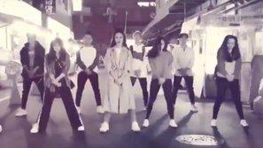 Đông Nhi siêu ấn tượng khi cùng vũ đoàn tái hiện 'Bad Boy' giữa đường phố Seoul về đêm