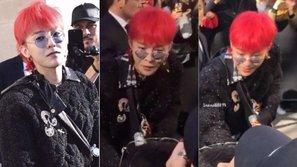 Phản ứng giật mình hài hước của G-Dragon khi gặp đồng hương nổi tiếng nơi trời Tây
