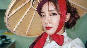 Diện Hanbok mừng Trung thu, cựu thành viên 2NE1 hứng