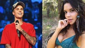 Bạn gái tin đồn của Justin Bieber sexy 'ăn đứt' Selena Gomez