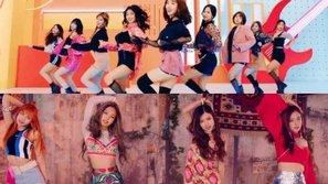 Netizen dậy sóng khi vũ đạo mới của TWICE quá giống với Black Pink
