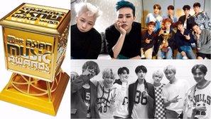 Xuất hiện danh sách biểu diễn MAMA 2017 tại Hồng Kông: EXO được xếp diễn sau G-Dragon + Taeyang, BTS vắng mặt?