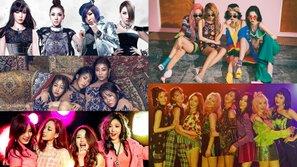 Soi thành tích ca khúc quảng bá cuối cùng của các nhóm nữ thế hệ 2: Một cái kết buồn của SNSD!
